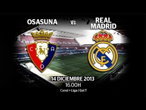 CA Osasuna vs Real Madrid CF 2-2 all goals and highlights vk.com/ea_fifa14