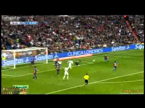 Gareth Bale Amazing Goal Real Madrid vs Elche 3-0 | 22-02-2014