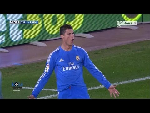 Real Madrid Vs Valencia 3-2 2013 Goals & Highlights (22/12/2013) HD