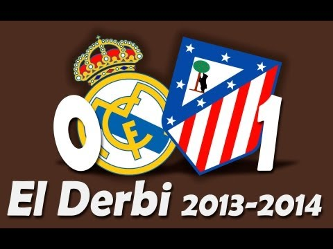 Derbi completo: Real Madrid – Atlético de Madrid [Liga 13-14][jornada7][HD]