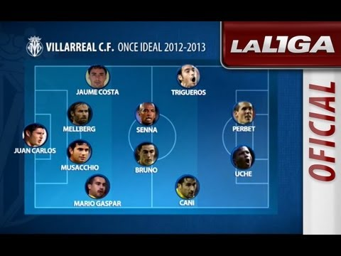 El Once Ideal del Villarreal CF 2012/2013