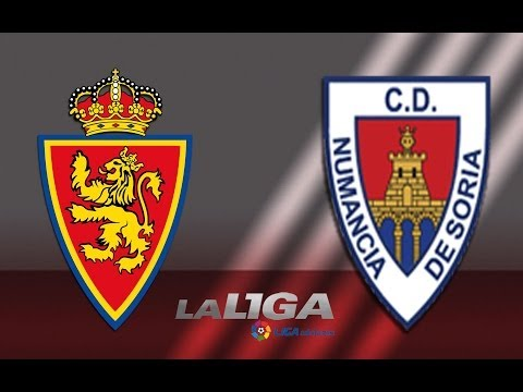 Resumen de Real Zaragoza (1-2) CD Numancia – HD