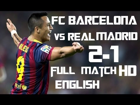 FC Barcelona vs Real Madrid FULL MATCH 26-10-2013 (HD)
