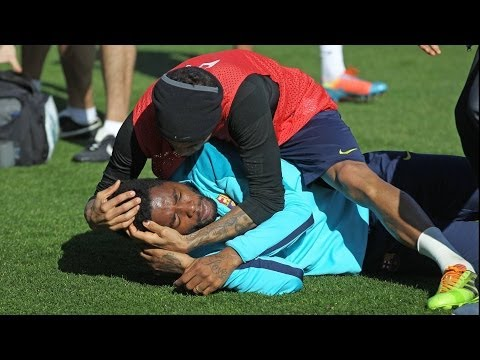 FC Barcelona – Funny training session